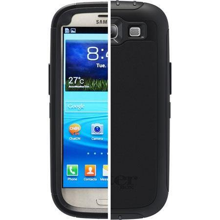 Otterbox Samsung Galaxy S3 Defender Series Black - Uk Mobile Store