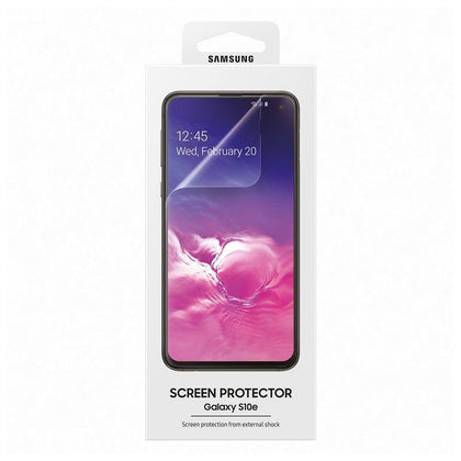 Official Samsung Galaxy S10e Screen Protector Clear - Uk Mobile Store