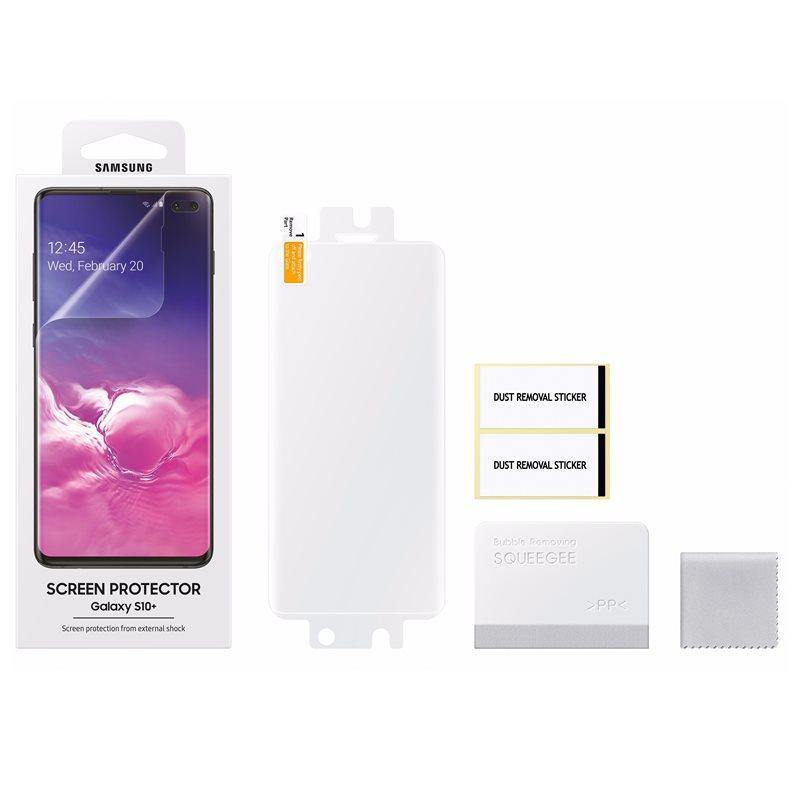 Official Samsung Galaxy S10 Plus Screen Protector Transparent - Uk Mobile Store