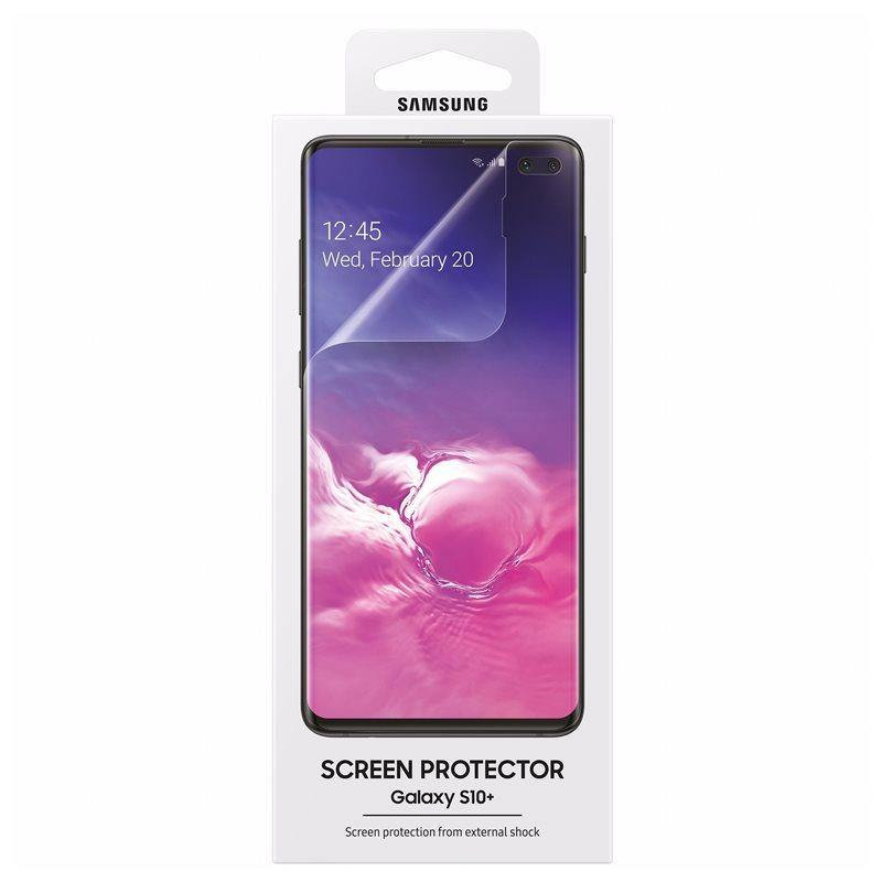 Official Samsung Galaxy S10 Plus Screen Protector - ET-FG975CTEGWW - Uk Mobile Store