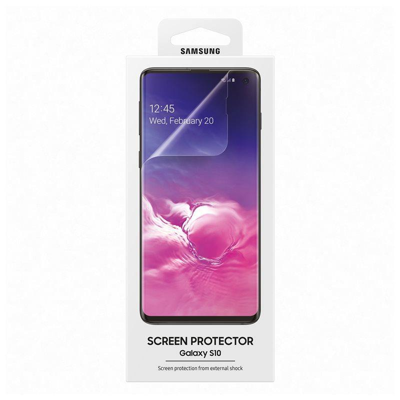 Official Samsung Galaxy S10 Screen Protector Transparent - Uk Mobile Store