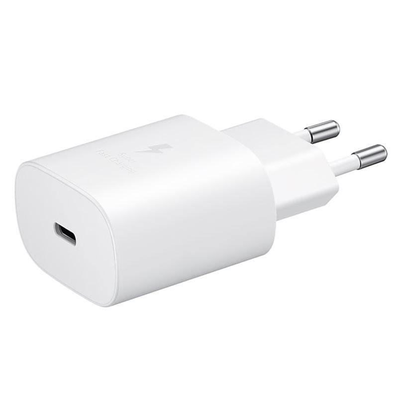 Official Samsung Galaxy Note 10 / Note 10 Plus 25W Fast EU Charger White EP-TA800