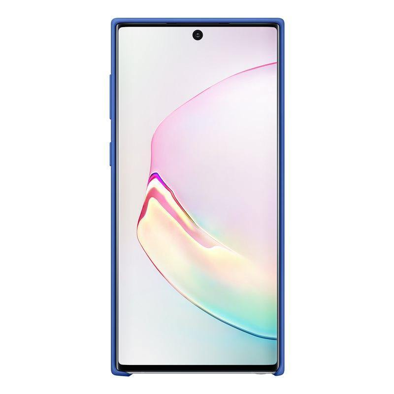 Official Samsung Galaxy Note 10 Silicone Cover Case - Blue