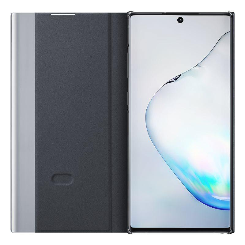 Official Samsung Galaxy Note 10 Plus Clear View Case - Black