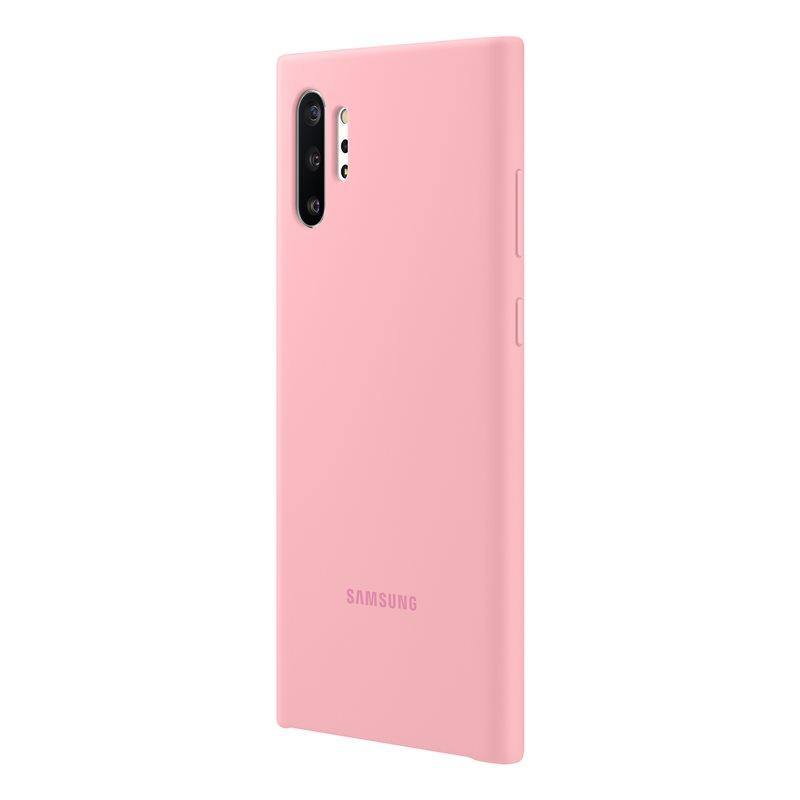 Official Samsung Galaxy Note 10 Plus 5G Silicone Cover Case Pink