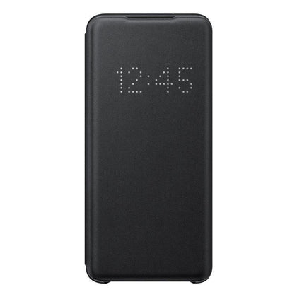 Official Samsung Galaxy S20 LED View Cover Case Black - EF-NG980PBEGEU