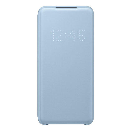 Official Samsung Galaxy S20 LED View Cover Case Sky Blue - EF-NG980PLEGEU