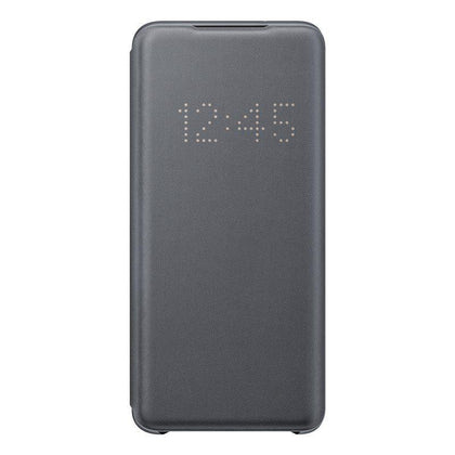 Official Samsung Galaxy S20 LED View Cover Case Grey - EF-NG980PJEGEU