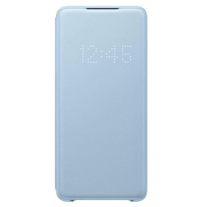 Official Samsung Galaxy S20 Plus LED View Cover Case Sky Blue - EF-NG985PLEGEU - Uk Mobile Store