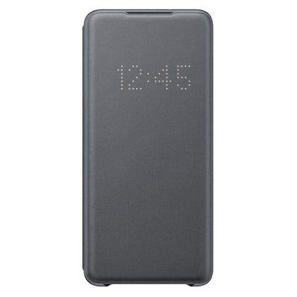 Official Samsung Galaxy S20 Plus LED View Cover Case Grey - EF-NG985PJEGEU - Uk Mobile Store