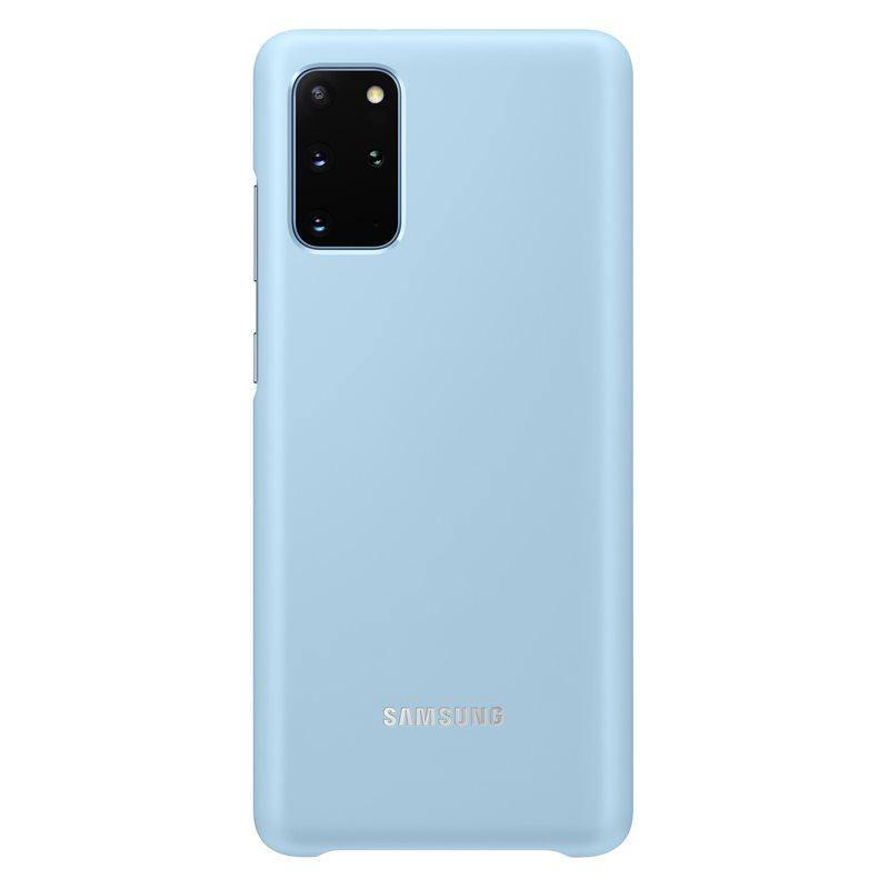 Official Samsung Galaxy S20 Plus LED Cover Case Sky Blue - EF-KG985CLEGEU - Uk Mobile Store