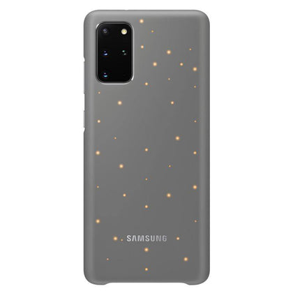 Official Samsung Galaxy S20 Plus LED Cover Case Grey - EF-KG985CJEGEU - Uk Mobile Store
