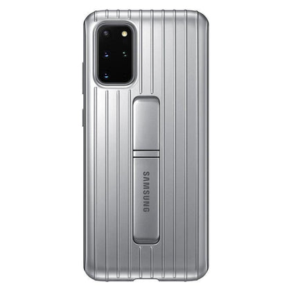 Official Samsung Galaxy S20 Plus Protective Standing Case Silver - EF-RG985CSEGEU