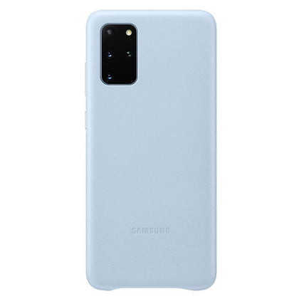Official Samsung Galaxy S20 Plus Leather Cover Case Sky Blue - EF-VG985LLEGEU