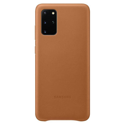 Official Samsung Galaxy S20 Plus Leather Cover Case Brown - EF-VG985LAEGEU