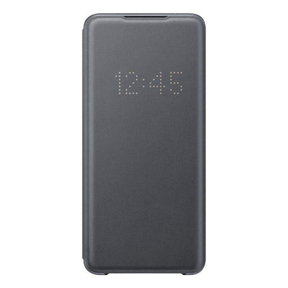 Official Samsung Galaxy S20 Ultra LED View Cover Case Grey - EF-NG988PJEGEU