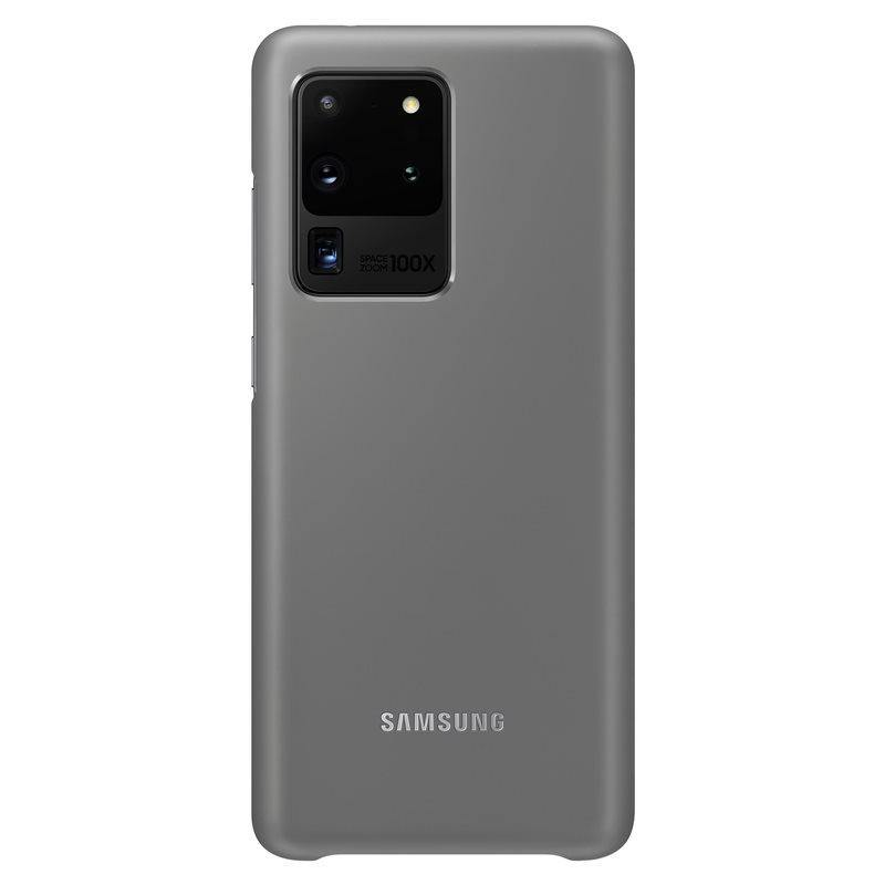 Official Samsung Galaxy S20 Ultra LED Cover Case Grey - EF-KG988CJEGEU