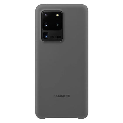 Official Samsung Galaxy S20 Ultra Silicone Cover Case Grey - EF-PG988TJEGEU