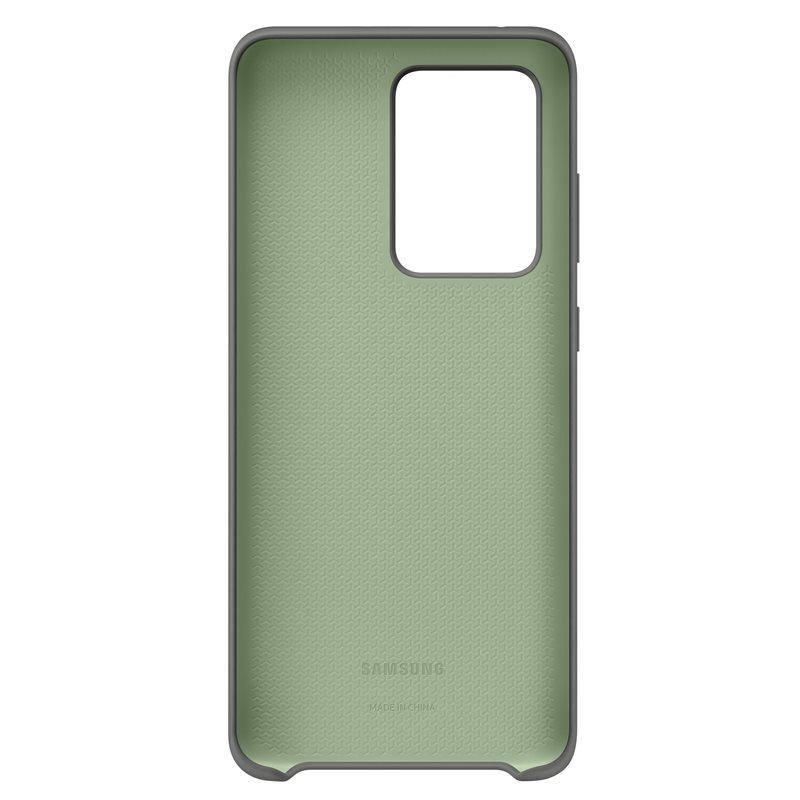 Official Samsung Galaxy S20 Ultra Silicone Cover Case Grey - EF-PG988TJEGEU - Uk Mobile Store