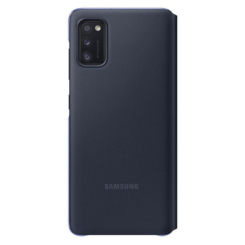 Official Samsung Galaxy A41 S-View Flip Cover Case Black EF-EA415PBEGEU