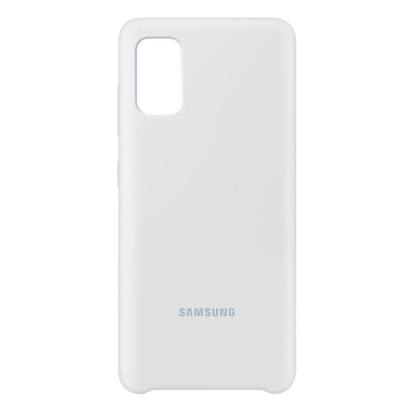 Official Samsung Galaxy A41 Silicone Cover Case White EF-PA415TWEGEU