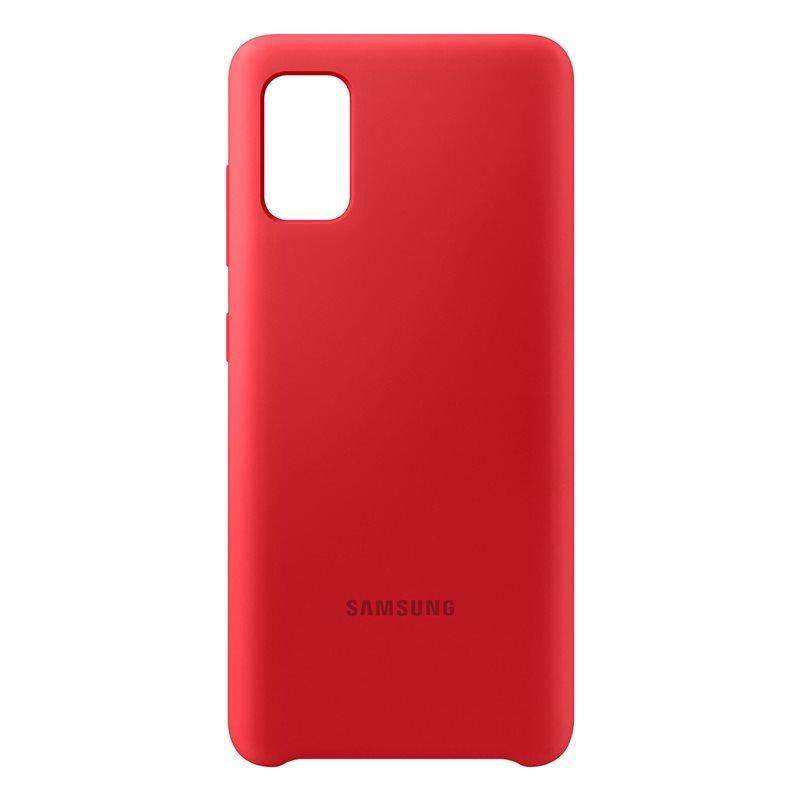 Official Samsung Galaxy A41 Silicone Cover Case Red EF-PA415TREGEU - Uk Mobile Store