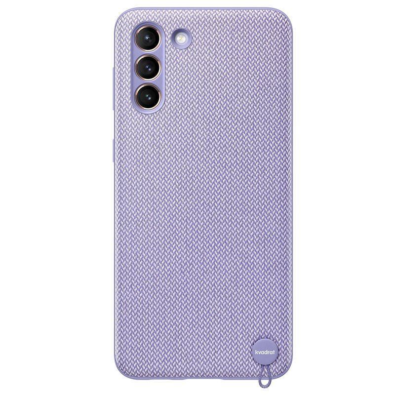 Official Samsung Galaxy S21 Plus Kvadrat Cover Case Violet - Uk Mobile Store