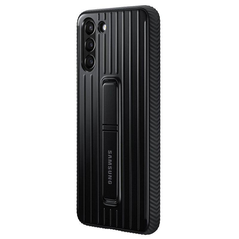 Official Samsung Galaxy S21 Plus Protective Standing Case Black - Uk Mobile Store