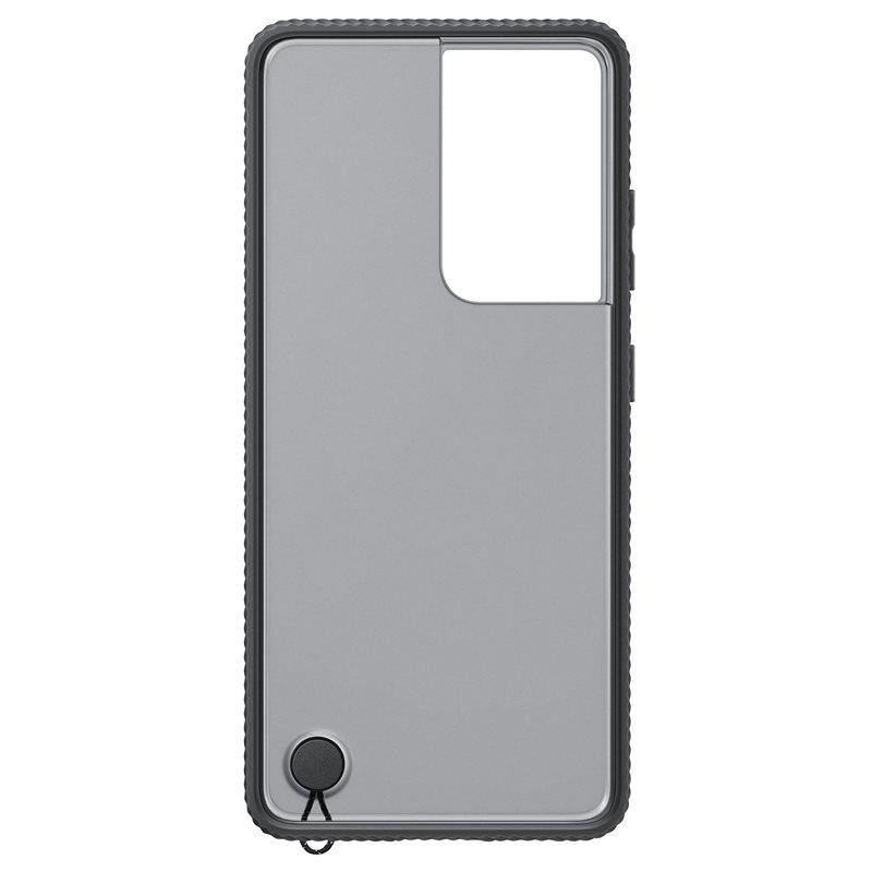 Official Samsung Galaxy S21 Ultra Clear Protective Case Black - Uk Mobile Store