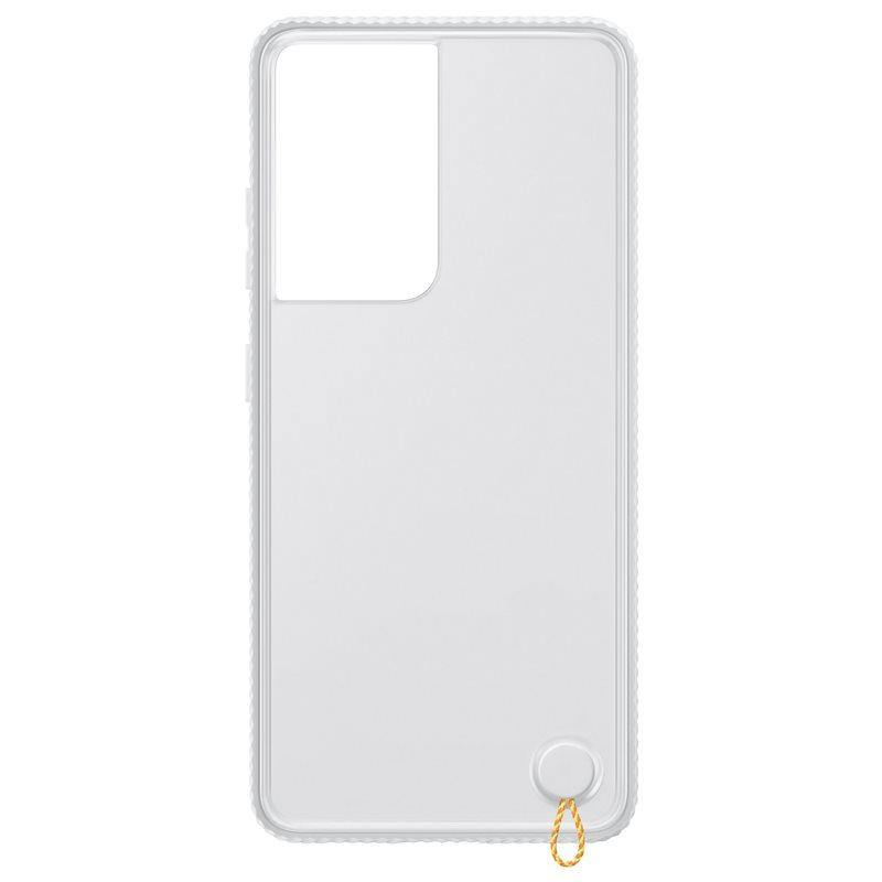 Official Samsung Galaxy S21 Ultra Clear Protective Case White - Uk Mobile Store