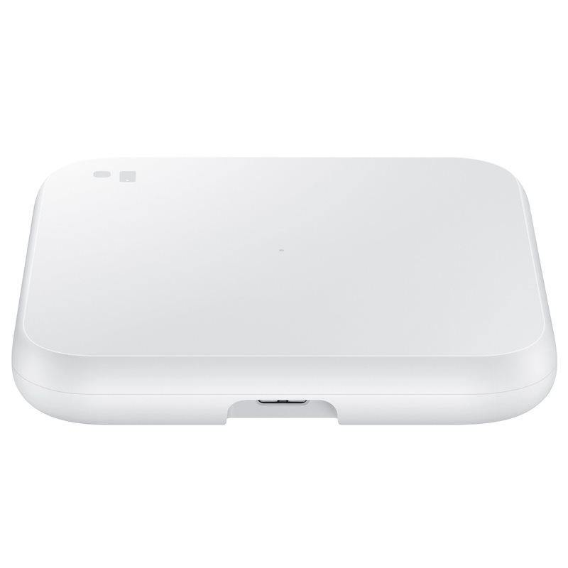 Official Samsung 9W Wireless Charging Pad 2 With EU Plug White - Uk Mobile Store