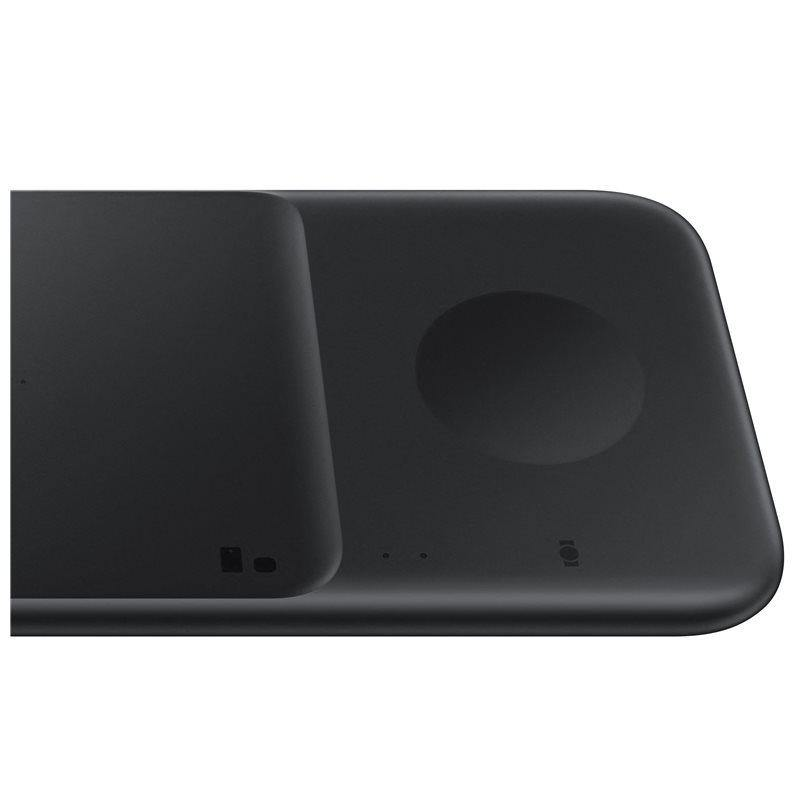 Official Samsung Duo 2 9W Charging Pad With EU Plug Black - Uk Mobile Store