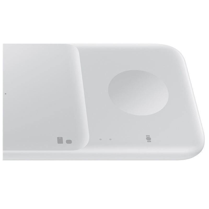 Official Samsung S21 Plus Duo 2 9W Charging Pad & UK Plug White - Uk Mobile Store