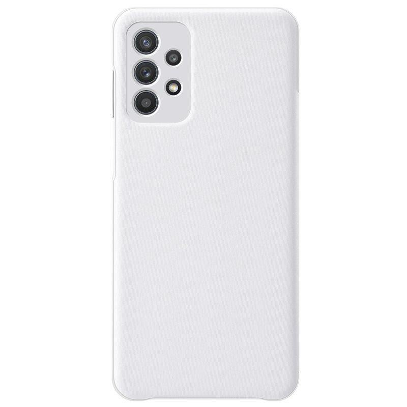 Official Samsung Galaxy A32 5G Smart S View Wallet Case White