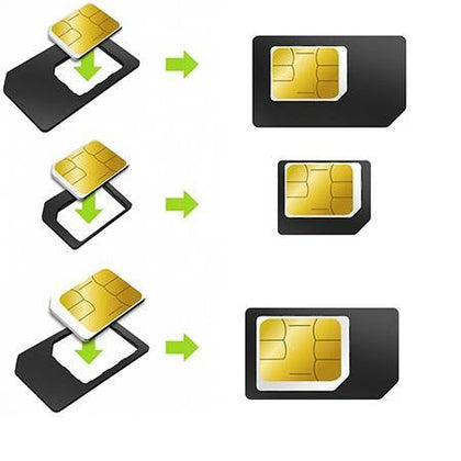 SIM card Adapter 3 Pack