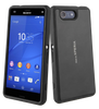 Sony Xperia Z3 Compact Gel Shell Plus Cover Case - Black