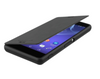 Sony Xperia Z3 Gel Shell Flip Plus Cover Case - Black