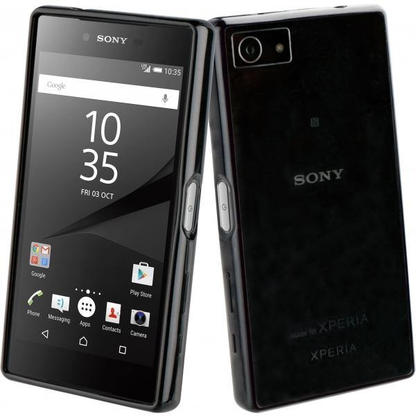Roxfit Sony Xperia Z5 Compact Gel Shell - Nero Black - Uk Mobile Store