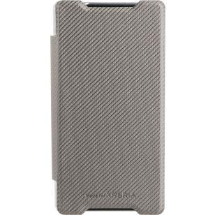 Roxfit Sony Xperia Z5 Compact Slimline Book Case Silver - Uk Mobile Store