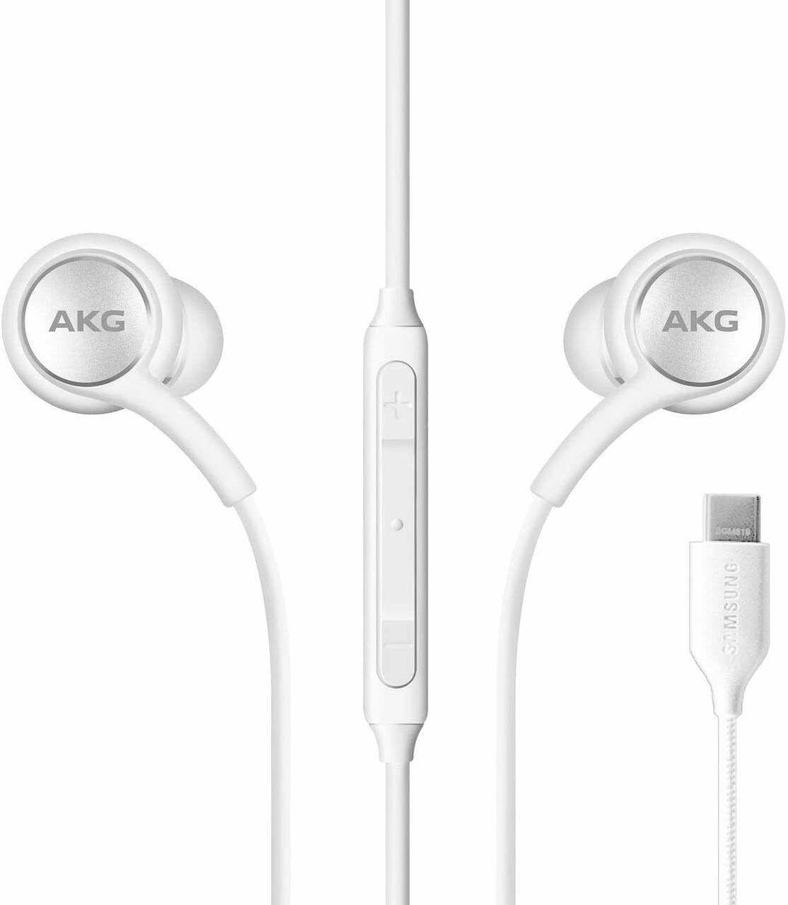 Official Samsung Galaxy Note 20 Ultra AKG Type-C Headset Earphone Headphones White