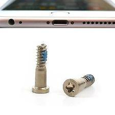 2  X Apple iPhone 6 6S 6 Plus 7 8 Pentalobe Bottom Screws Gold