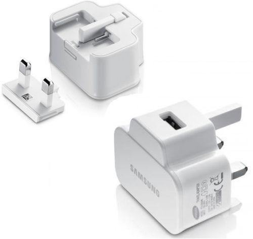 Samsung UK Mains Adapter White - ETA-U90UWE