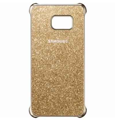 Official Samsung Galaxy S6 Edge+ Plus Glitter Cover Case - Gold