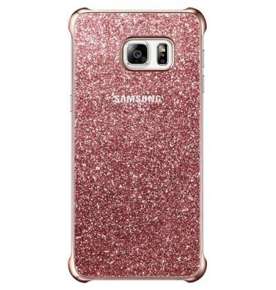 Official Samsung Galaxy S6 Edge+ Plus Glitter Cover Case - Pink - Uk Mobile Store