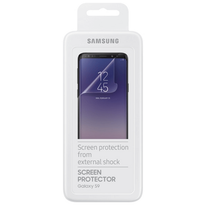 Official Samsung Galaxy S9 Screen Protector - Twin Pack
