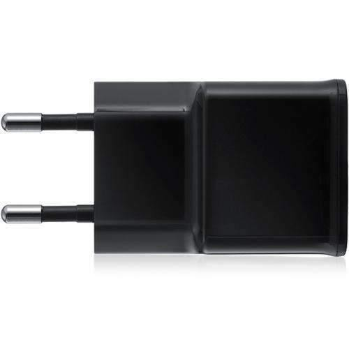 Official Samsung 2A EU 2-Pin Mains Adapter Black ETA-U90EBE
