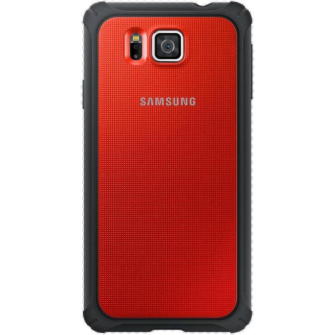 Samsung Galaxy Alpha Protective Cover Red - Uk Mobile Store