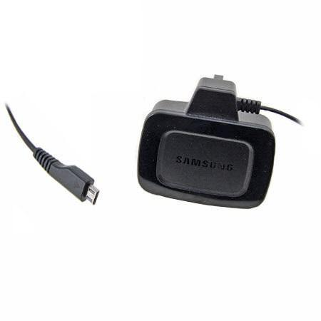 Samsung Micro USB 3 Pin Mains Charger