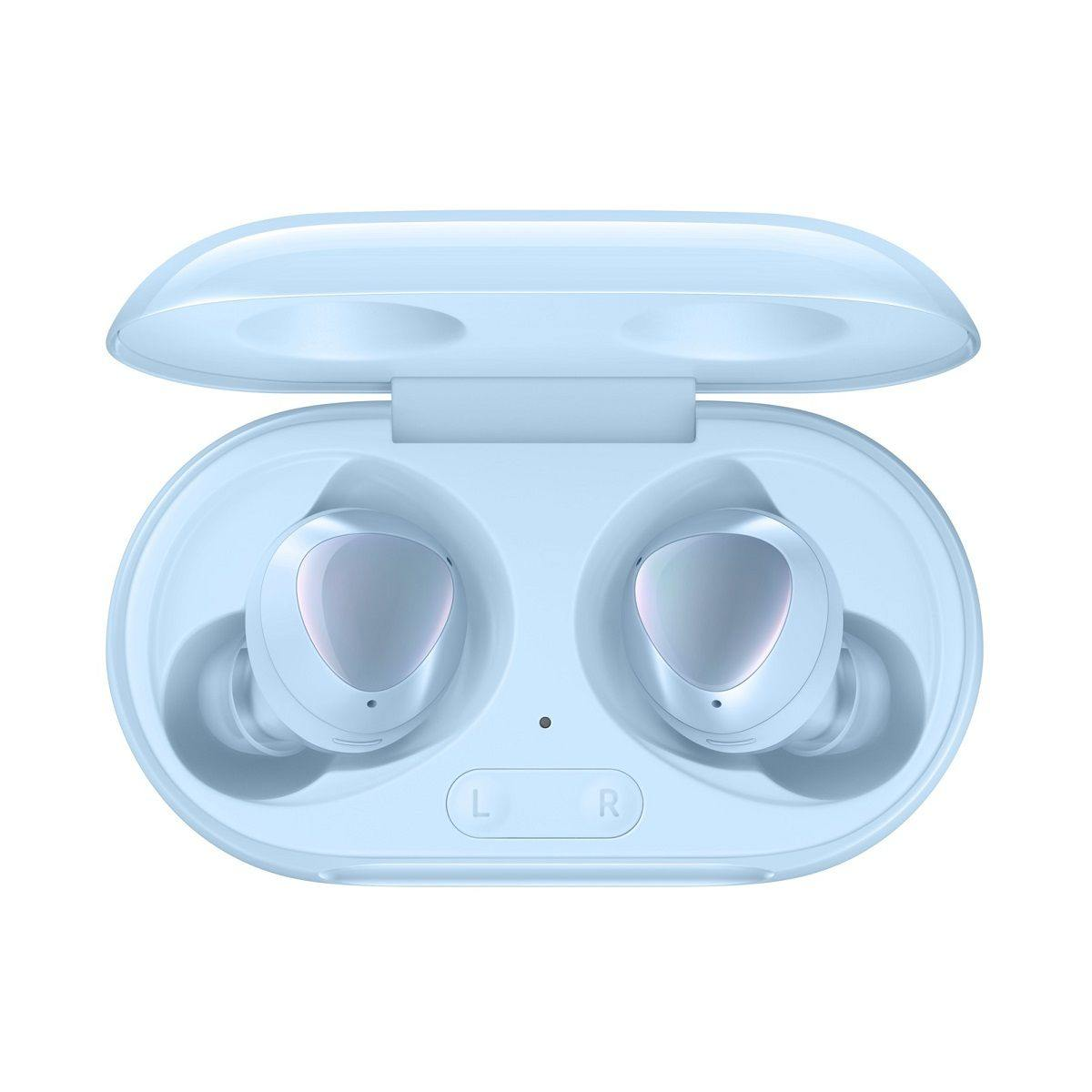 Official Samsung Galaxy Buds Plus Bluetooth Wireless Earphones with Charging Case Blue