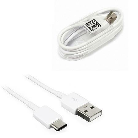 Official Samsung Galaxy A52 5G USB Type C Fast Charge Charger Cable White - Uk Mobile Store